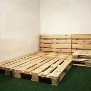 Pallet bed 4 by6 – extended