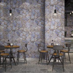 Brick greyish elegant interior – 90116 wallpaper