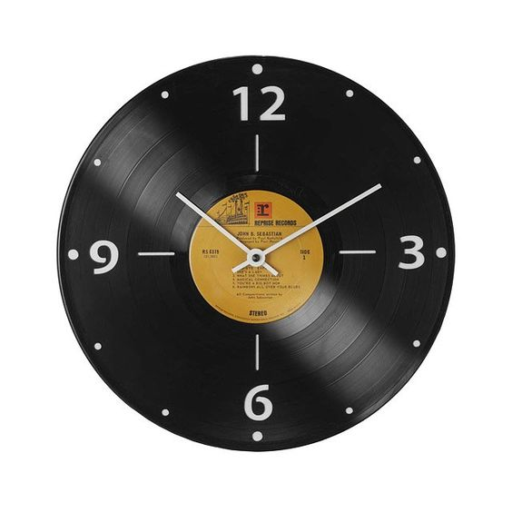 Lp records clocks