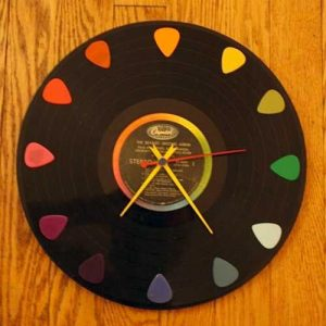 LP record clocks