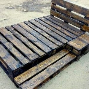 Pallet bed – 4 by 6